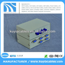 Manual 4 Port 4 Way VGA Switch Box/VGA Monitor Sharing Switch Box Adapter