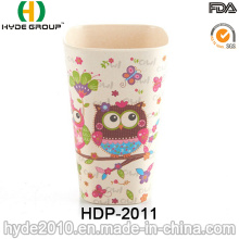 2016 Hot Sales Pretty Design Bambu Fiber Cup (HDP-2011)