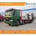 SINOTRUK 8X4 platform truck newly produced
