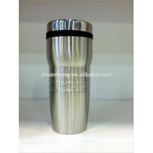 mayor taza de acero inoxidable, taza de café personalizada, taza de café de Navidad