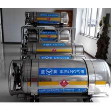 Kryogenen Lagerung Behälter aus Edelstahl für LNG für Bus, LKW