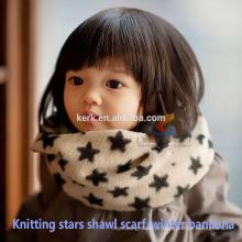Novo 2015 tricotou o lenço do cachemire do bandana do xaile do mantra do aquecedor do pescoço para mulheres