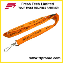 China Cheap Customized Polyester Lanyard with Your Logo