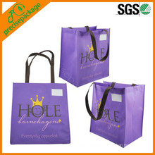 hot-selling black organic non woven shopping bag