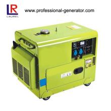 Gerador de soldagem diesel silencioso de 5kw para venda