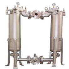 Carcasa de filtro sanitario de acero inoxidable para filtración farmacéutica