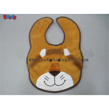 "13""Cheap Baby Stuff Plush Brown Lion Baby Bibs"