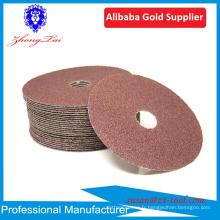 disque de fibre de trou rond