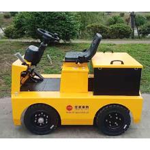 Tractor de remolque eléctrico de cuatro ruedas para fábrica