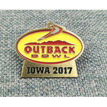 Promotional Custom Outback Brass Die Struck Enamelled Pins/Badges