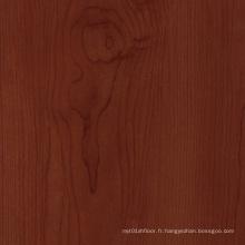 Plancher en bois de planche de vinyle de grain pour intérieur