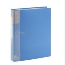 One Stop Shopping Office Supplies plastic A4 Clear Book file document storage box folder file 60 pages