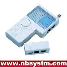 Cable Tester 4 em 1 para UTP STP RJ45, RJ11 RJ12, BNC e USB
