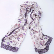 High Quality Printing Long Scarf