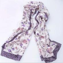 Высокое качество печати длинный шарф