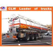 Aluminum Alloy Three Axles Fuel Tanker Trailer