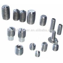 Stock DIN913 / 914/915/916 Todos os tipos parafusos de encaixe SS