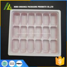 bandeja de empacotamento plástica do bolinho de massa do alimento congelado