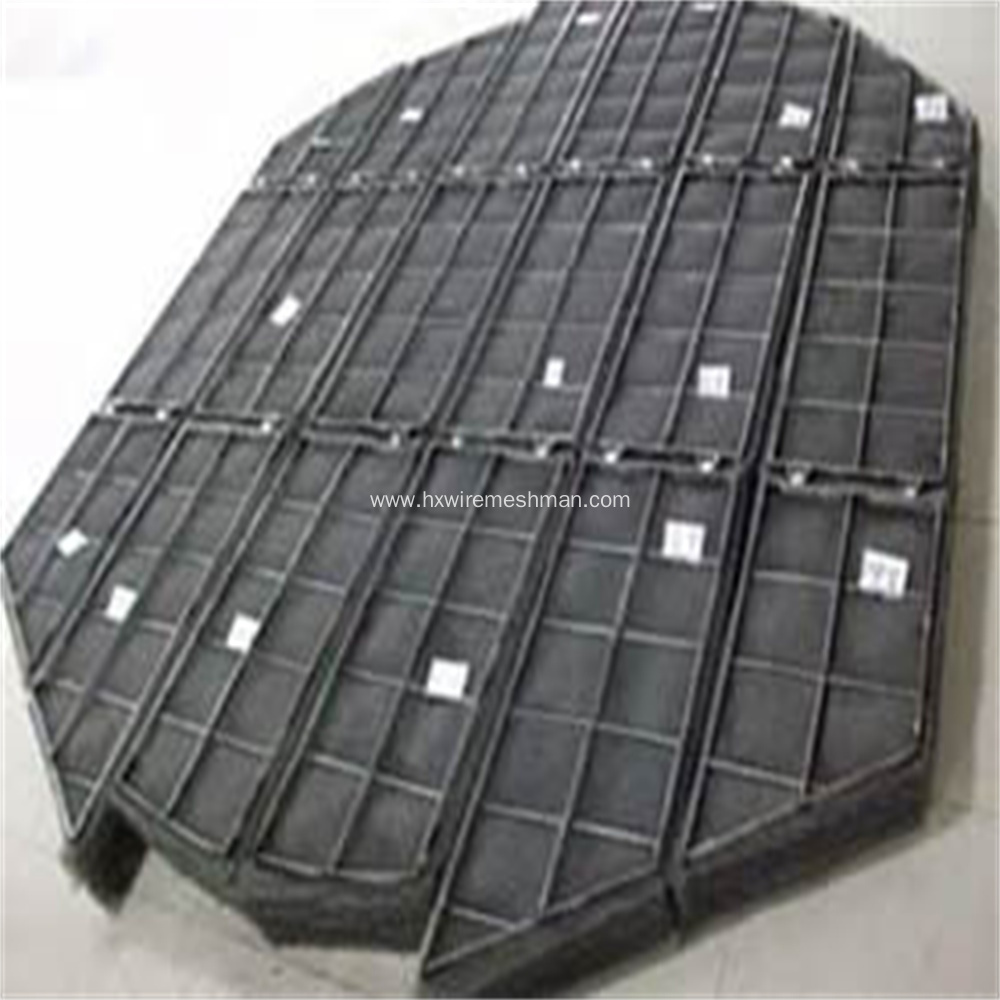 Knitted wire demister pad