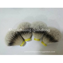 Bulbo em forma de Silvertip Badger Hair Shaving Brush Knot