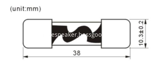 5AG-142-1 glass tube fuse