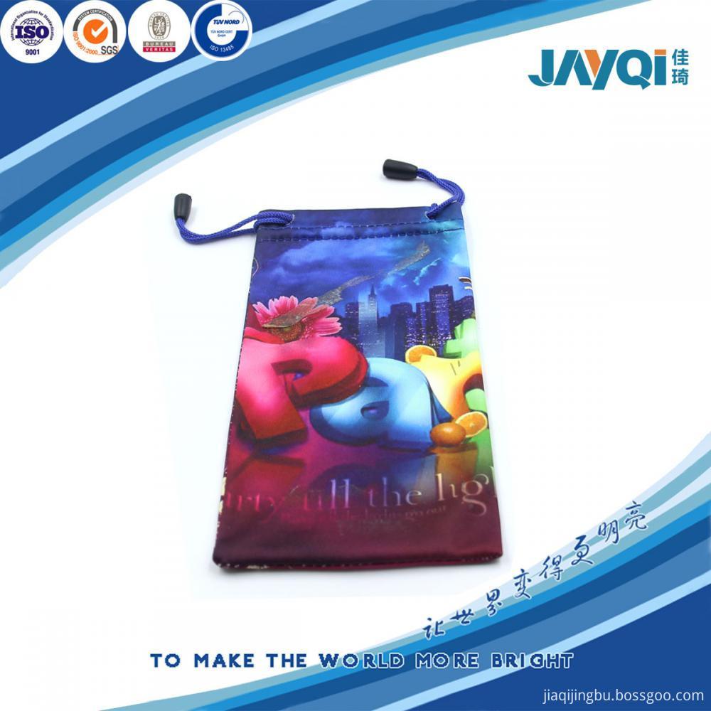 30% Nylon 70% Polyester Eyeglass Bag 200gsm