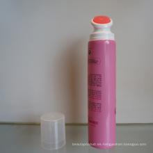 Tubo de PE con el cepillo de masaje para rostro o cuerpo