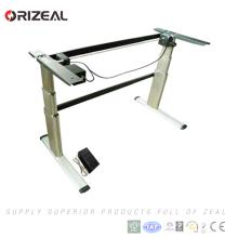 2018 descuento grande solo motor eléctrico altura ajustable escritorio de pie escritorio estilo simple