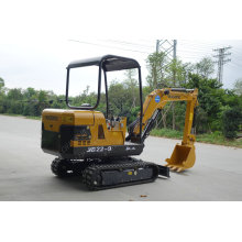 2.2 Tons Small Mechanical Digger Mini Digger