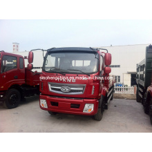 155HP Camion en camion à plateau 15 tonnes, camion à cargaison à vendre Zb1160tph3f