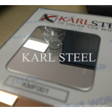 High Quality 304 Stainless Steel Ba Sheet for Decoration Materials