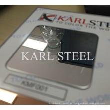 Folha de Ba de aço inoxidável de alta qualidade 410 para materiais de decoração
