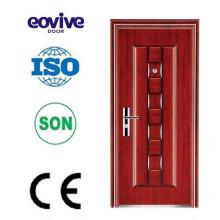 Alta qualidade pre pendurado preços de porta de metal