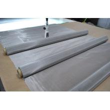 Engranzamento de fio do aço inoxidável no material 304L