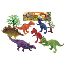 6PCS Kunststoff Promotion Dinosaurier Spielzeug (10257641)