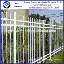 China wholesale Rail Head Used Wrought Iron Fencing
