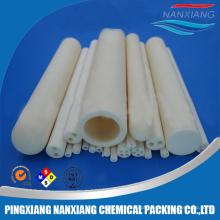 Tubo de filtro cerâmico alto do par termoelétrico da alumina da condutibilidade térmica Al2O3