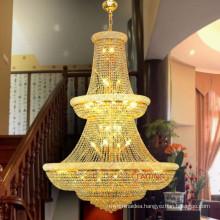 Lager pendant light gold empire turkish crystal chandelier