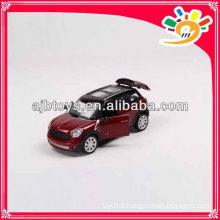 Licence 1 24 mz modèle die cast mini car porte roue libre ouverte