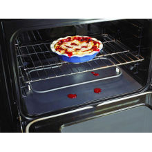 PTFE ( PFOA FREE) Reusable Non-stick Silver Color Oven Liner, Keep Oven And Pan Clean