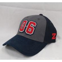 2016 gute Qualitätssport-Baseballmütze gesponnene Kappe (WB-080117)