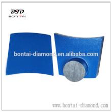 Outils de polissage diamantés métalliques