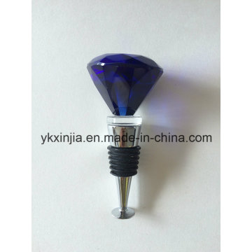 Blue Crystal Wine Stopper Kitchenware