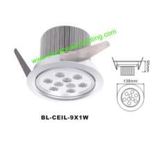 9W LED Light LED Downlight LED Plafonnier