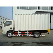 4-5 tons dongfeng van truck