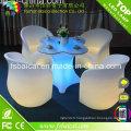 Meubles de jardin LED / Meubles d'extérieur LED / Table LED et chaise Vente chaude