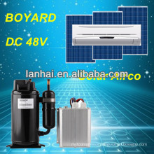 mobile car air conditioner with battery power dc 24v mini compressor