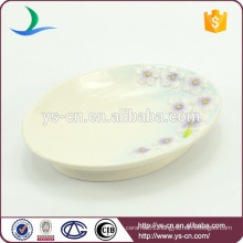 purple Sinensis Flower soap dish