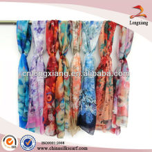 Custom Printed Scarves For Wholesale, Wholesale Chiffon Shawl, Best-selling Scarf Shawl