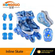 Patins em linha com patins de velocidade profissionais / inline